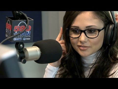 "Adult Film Star Ariana Marie In Studio For ""the Morning After"""