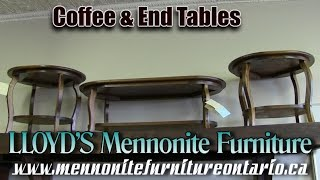 Mennonite Coffee & End Tables