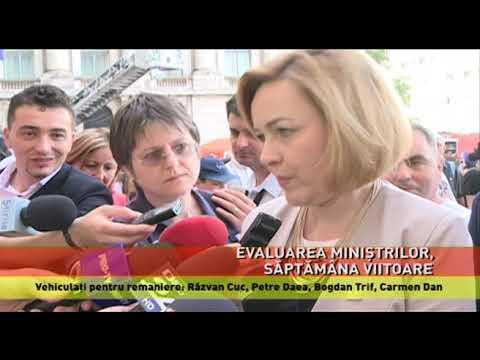 Vehiculați pentru remaniere: Răzvan Cuc, Petre Daea, Bogdan Trif, Carmen Dan