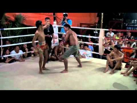 Speed Kicking Contest at Tiger Muay Thai BBQ Beatdown 47