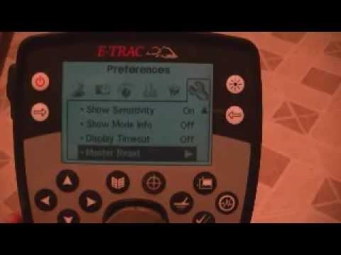 Minelab E-Trac Tutorial Video for the ECTreasureHunters (Bill & Bob)