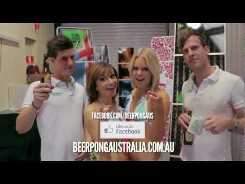 Beer Pong Australia Showcase