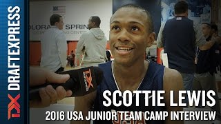 Scottie Lewis Interview at USA Basketball Junior National Team Camp