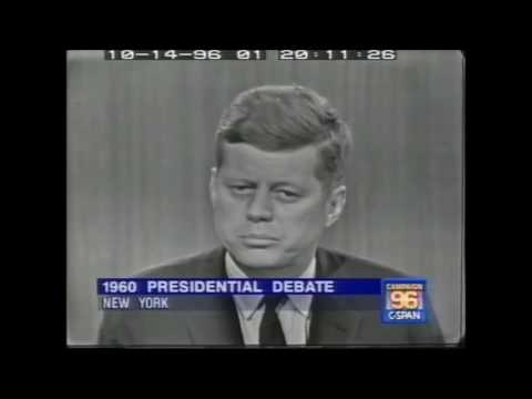 John F. Kennedy vs Richard Nixon - Fourth Presidential Debate 1960