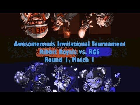 [Awesomenauts Invitational] Ribbit Royals vs. RGS Round1/Match1