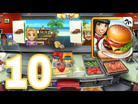 COOKING FEVER - Gameplay Walkthrough Part 10 - Sandwich Shop Restaurant