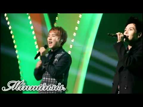[Fancam] 111207 – DJ concert – Christmas songs Sungmin ver