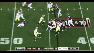 David Wilson vs Georgia Tech (2011)