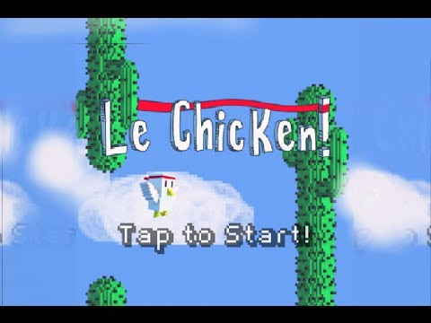 Video of Le Chicken - Tap Game