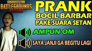 Video BOCIL BARBAR MINTA AMPUN GARA2 INI - PUBG MOBILE VOICE CHANGER #6 MP3, 3GP, MP4, WEBM, AVI, FLV Maret 2019