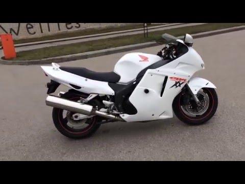 1997 Honda cbr blackbird, видео инструкция