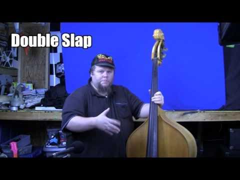 Upright bass slap lesson