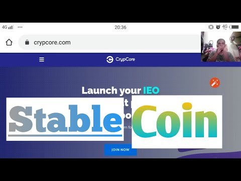 Crypcore Stable coin || cryptocurrency news