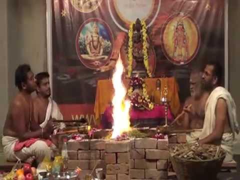 Maha Shivaratri Puja   Rudra Abhishekam Homam   2015 Vedicfolks.com (видео)