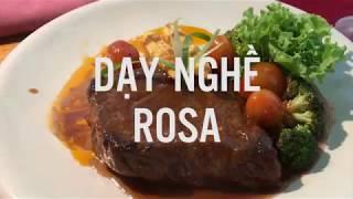 Dạy nghề Rosa - Food Art