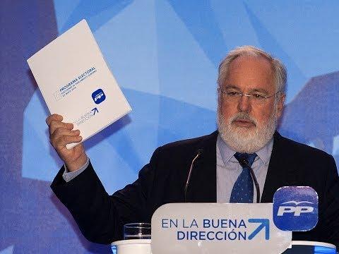 Cañete presenta el programa de futuro que España necesita en la Unión Europea