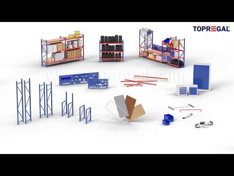 Produktvideo Lagerregale Weitspannregale