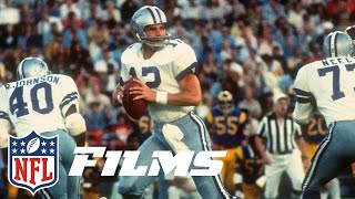 #9 Roger Staubach | Top 10 QBs of All-Time | NFL Films by NFL Films