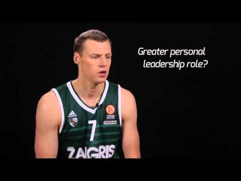 Pre-season Interview: Martynas Pocius, Zalgiris Kaunas