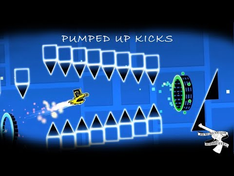 PUMPED UP KICKS (FULL LAYOUT) -  GEOMETRY DASH 2.1!!