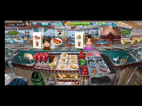 Fast Food Court LEVEL 21 : Cooking Fever | Nordcurrent