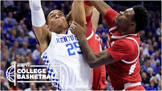 Kentucky comes back to win at home vs. Arkansas   College Basketball Highlights
