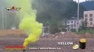 TG2043 MILITARY SMOKE CAN