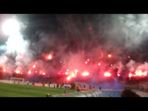 Video - Salida U de Chile Chivas - Semifinales - Los de Abajo - Universidad de Chile - La U - Chile