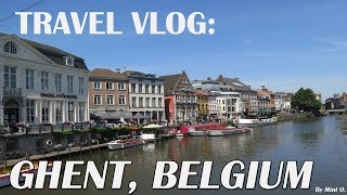 Ghent Belgium  city photos gallery : TRAVEL: A Day Trip in Ghent, Belgium