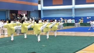 香港冷先鋒武術學院九龍公園A隊 - 女子集體24式太極拳金牌