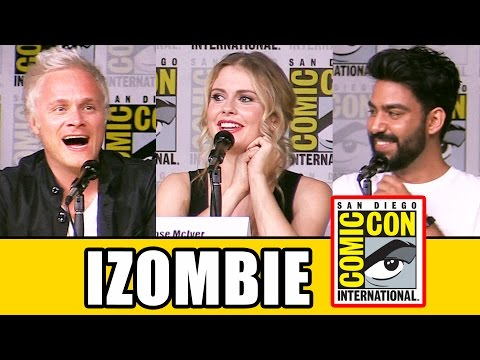iZOMBIE Comic Con 2016 Panel Highlights (Part 1) - Rose McIver, Season 3