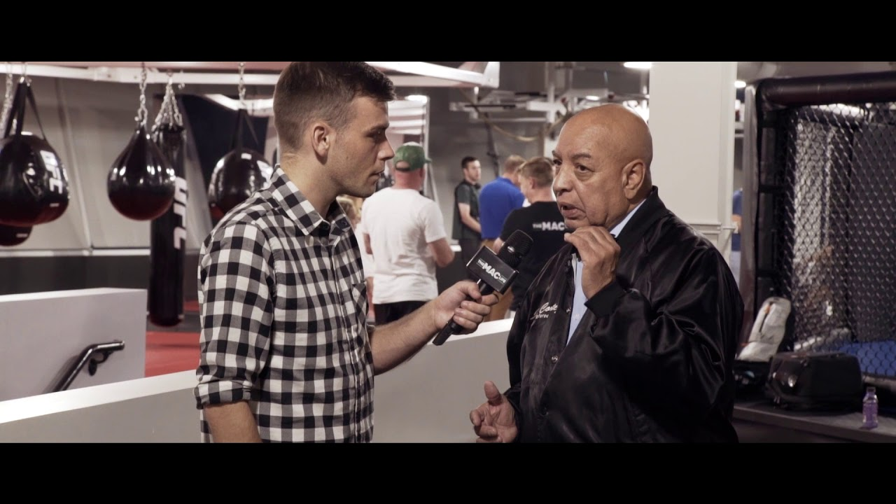 Joe Cortez Exclusive Interview: Working with Conor McGregor -- Sometimes I got to Pinch Myself