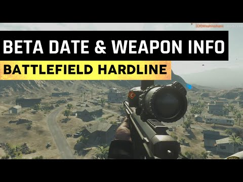 info - Hardline BETA release date has been leaked! I also talk about the Golden camo and some weapon info regarding a few Bolt Actions Rifles. ▻ Music By Jamie N Commons & X Ambassadors