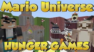 Minecraft Xbox Hunger Games - Mario Universe Hunger Games