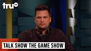 "Guy and Julian discuss the responsibilities of having hair. Subscribe to truTV on YouTube: http://full.sc/1s9KQGeWatch Full Episodes for Free: http://www.trutv.com/shows/talk-show-the-game-show/index.html#clipsAbout Talk Show the Game Show:Comedian Guy Branum (The Mindy Project, Chelsea Lately) brings his distinct point of view to truTV with Talk Show the Game Show, a hilarious mashup of two beloved television formats that pits comedians and celebrities against each other for the title of ""Best Guest of the Night."" Based off of Branum's popular live comedy show, in each episode, celebrity guests become contestants as they compete in various talk show-inspired challenges and are judged by a comedic panel who awards points and roasts their performances.truTV Official Site: http://www.trutv.com/Like truTV on Facebook:  https://www.facebook.com/truTVFollow truTV on Twitter: https://twitter.com/truTVFollow truTV on Tumblr: http://trutv.tumblr.com/Get the truTV app on Google Play: http://bit.ly/1eYxjPPGet the truTV app on iTunes: http://apple.co/1JiGkjhWay more truTV!  Watch clips, sneak peeks and exclusives from original shows like Comedy Knockout, Those Who Can't and more – plus fresh video from hit shows like Impractical Jokers and The Carbonaro Effect.Talk Show the Game Show - Wigging Out with Julian McCullough   truTV"