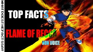 Top 10 Facts Flame of Recca   Non Voice