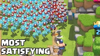 Video The Most Satisfying Video Ever in Clash Royale MP3, 3GP, MP4, WEBM, AVI, FLV Juni 2017