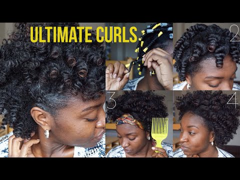 how to define dry curls