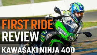 8. Kawasaki Ninja 400 First Ride Review at RevZilla.com