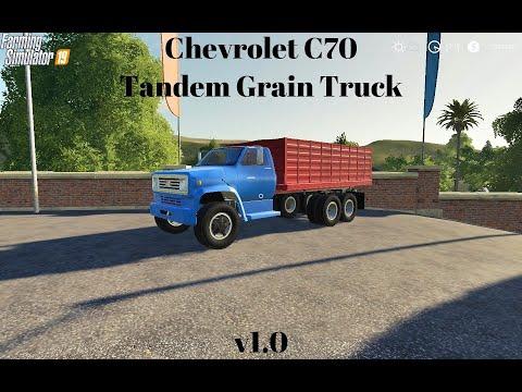 Chevrolet C70 Tandem Grain Truck v1.0