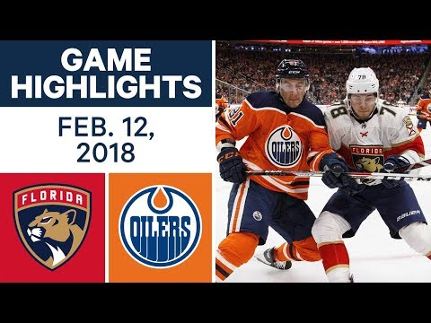 Video: NHL Game Highlights | Panthers vs. Oilers - Feb. 12, 2018