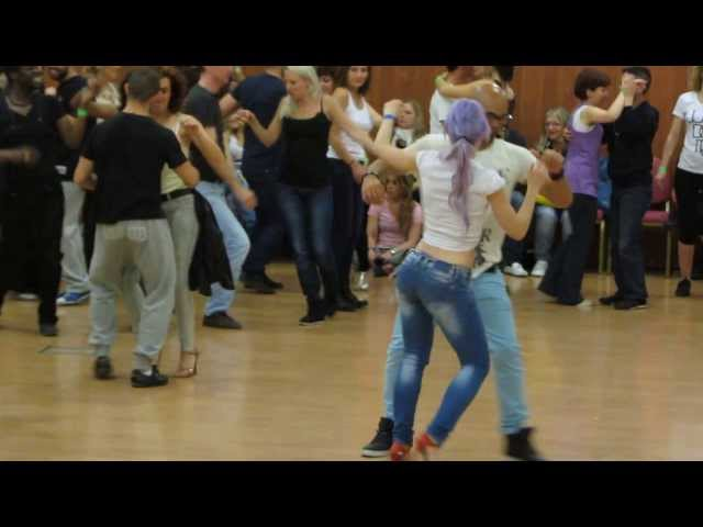 ALBIR and SARA 3º Semba workshop: FEELING KIZOMBA FESTIVAL 2013 Madrid Workshop