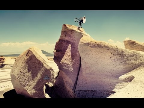 BMX Competition on the Moon? – Red Bull Ramparanoia 2012