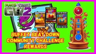 """WE did it the Community Challenge is complete yellow, blue and red chest won, time to find out what rewards I will get for competing in the Buffet Beat Down Challenge. Plants Vs Zombies Garden Warfare 2. Subscribe here for more Gaming Videos: http://goo.gl/JnMm2v.Don't forgot to click that notifications bell so you know when my next video is live  I Stream so come join The Barking Mad Society: https://mixer.com/krlbarkerhttps://twitch.tv/krlbarker Fancy spying on what I'm doing lately join my Twitter: https://twitter.com/KrlBarkerWant to stalk me on Xbox One well here's my GT: KrlBarkerJoin my Club on Xbox One and have a Chat: Search KrlBarkerIntro Creator: Dopemotionshttps://www.youtube.com/channel/UCgvrz9ioKv89HMyg42z4pyQEdited By: KrlBarkerFor more templates, visit www.velosofy.com! Song: Jim Yosef - Speed [NCS Release]Music provided by NoCopyrightSounds.Video Link: https://youtu.be/lP6mK2-nLIkDownload Link: http://NCS.lnk.to/SpeedPlants vs. Zombies: Garden Warfare 2 is a third-person shooter, similar to Garden Warfare. Gameplay largely remained the same as its predecessor, with the addition of 8 (6 immediately accessible and 2 which must be unlocked through a series of tough trials) new plant and zombie classes, a zombie version of Garden Ops, titled Graveyard Ops, and a new mode called Herbal Assault, a swapped version of Gardens and Graveyards where the Zombies must defend the bases and preventing the Plants from capturing it, which supports up to 24 players. Different classes have different abilities. Most characters and modes (Team Vanquish, Garden Ops, etc.) from the original Garden Warfare will be returning. A new """"remix"""" music from the original Garden Warfare for the Zombies. New abilities for returning characters will also be introduced in Garden Warfare 2."""