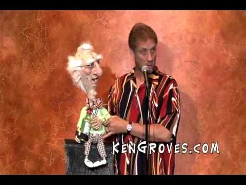 93 year old man gives comedian Ken Groves a run for his money!