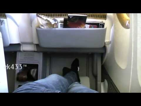 The Emirates Boeing 777-300ER   Business Class Product   2011