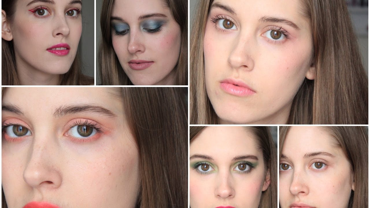 Spring Makeup Trends and Colors 2017