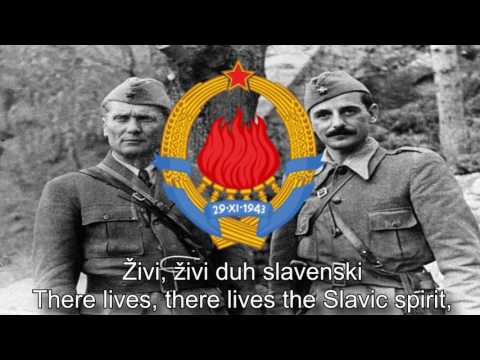 National Anthem Of Yugoslavia - Hej,Slaveni (Hey,Slavs)