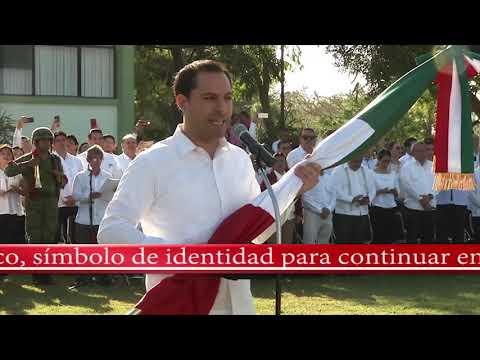 Bandera de México, símbolo de identidad para continuar en la lucha diaria