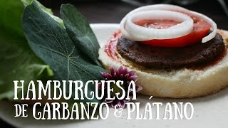 Hamburguesa garbanzo